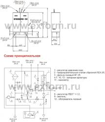Газорегуляторные пункты шкафные ГРПШ 400 (400-01, 07, 01)-У1